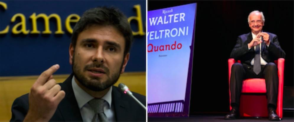 """Alessandro di Battista ha annunciato di voler lasciare la politica e il M5s per diventare uno scrittore. Walter Veltroni intanto presenta il suo ultimo libro """"Quando"""""""