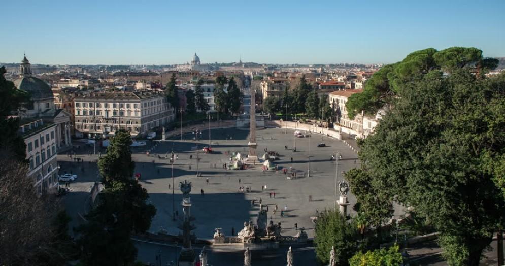 Piazza del Popolo vista dal Pincio