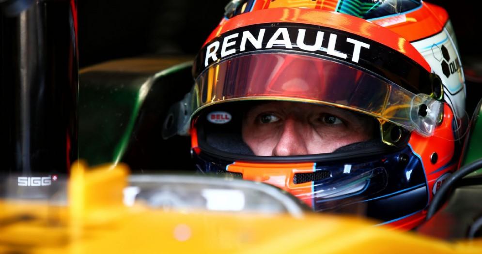 Robert Kubica al volante