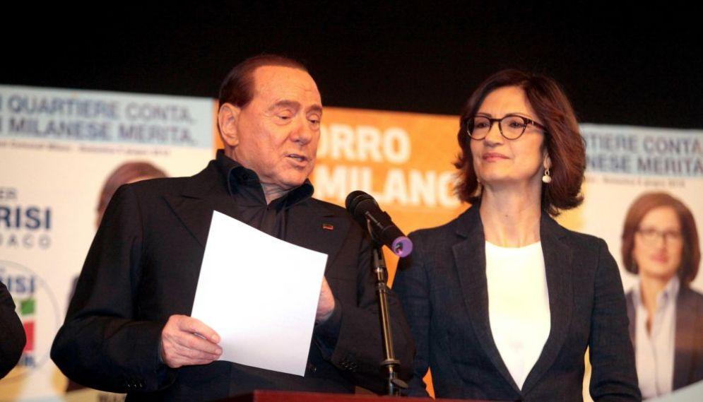 Silvio Berlusconi e Mariastella Gelmini