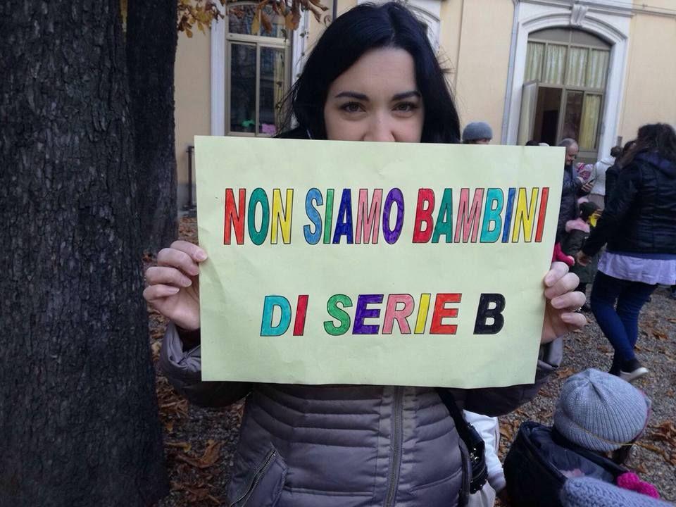 «Non siamo bambini di Serie B» alla scuola Francesca Durio