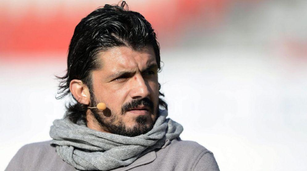 Il neo allenatore del Milan Rino Gattuso