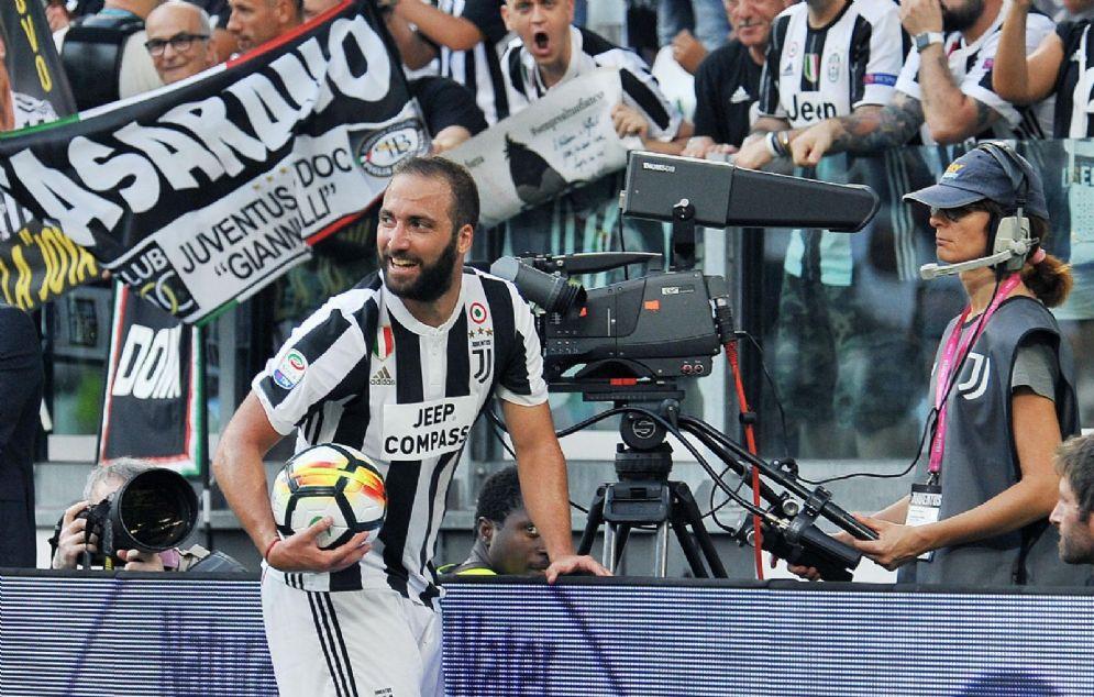 Gonzalo Higuain, centravanti della Juventus