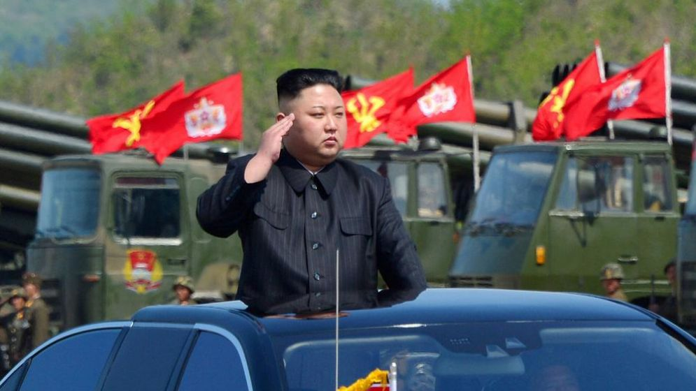 Il leader nordcoreano Kim Jong un