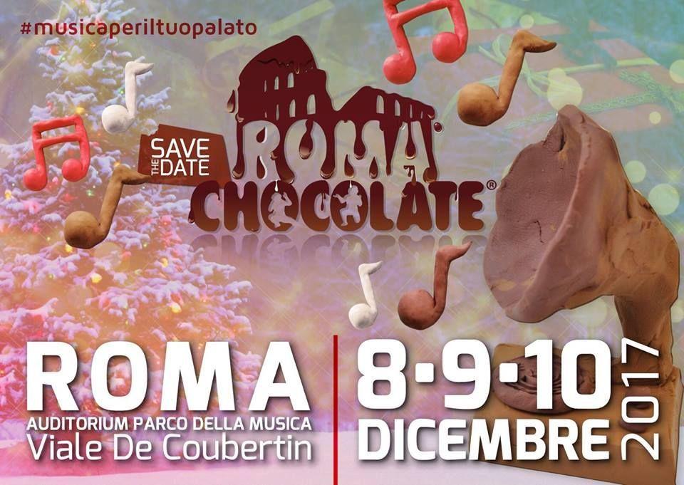 La locandina di Roma Chocolate 2017