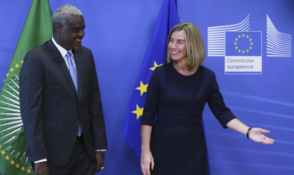 L'Alto Rappresentante per la politica estera dell'UE, Federica Mogherini