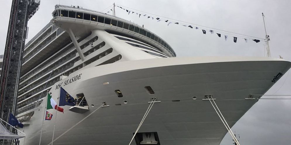 La nave da crociera MSC Seaside