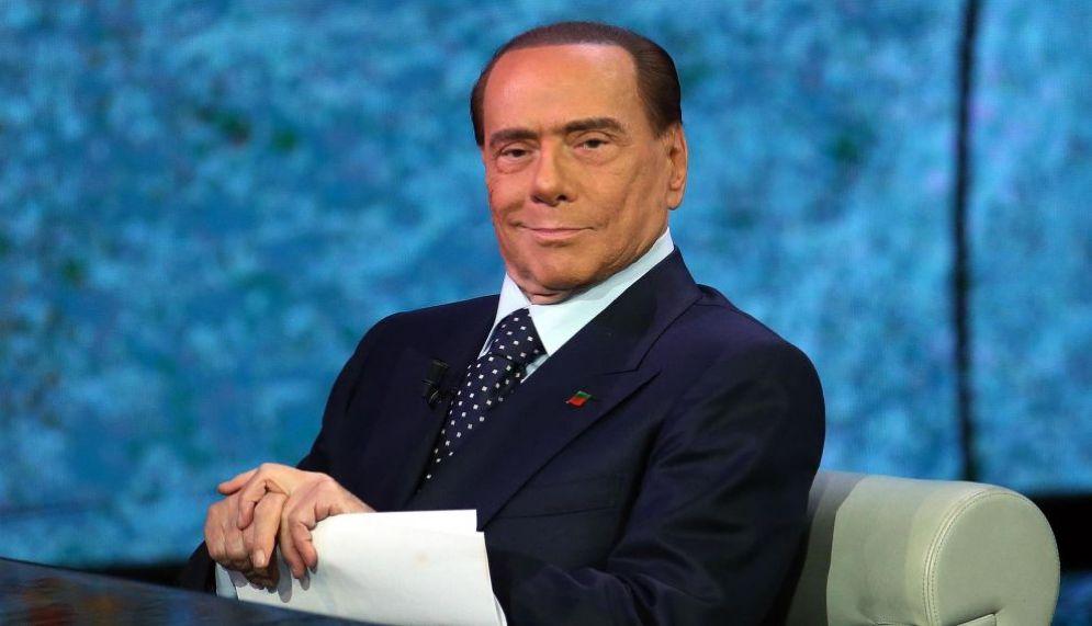 Silvio Berlusconi a 'Che tempo che fà'