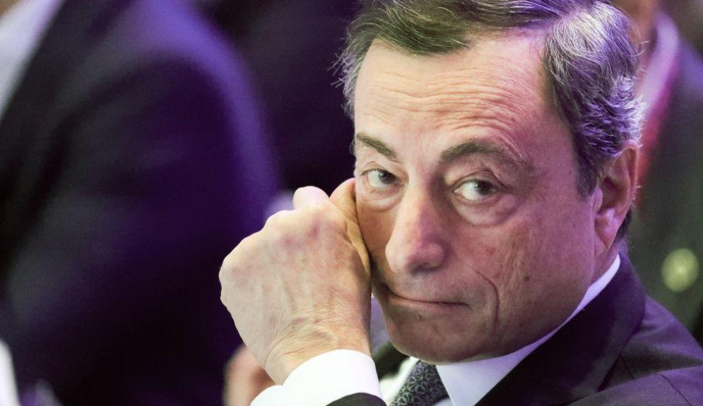 Il banchiere centrale Mario Draghi