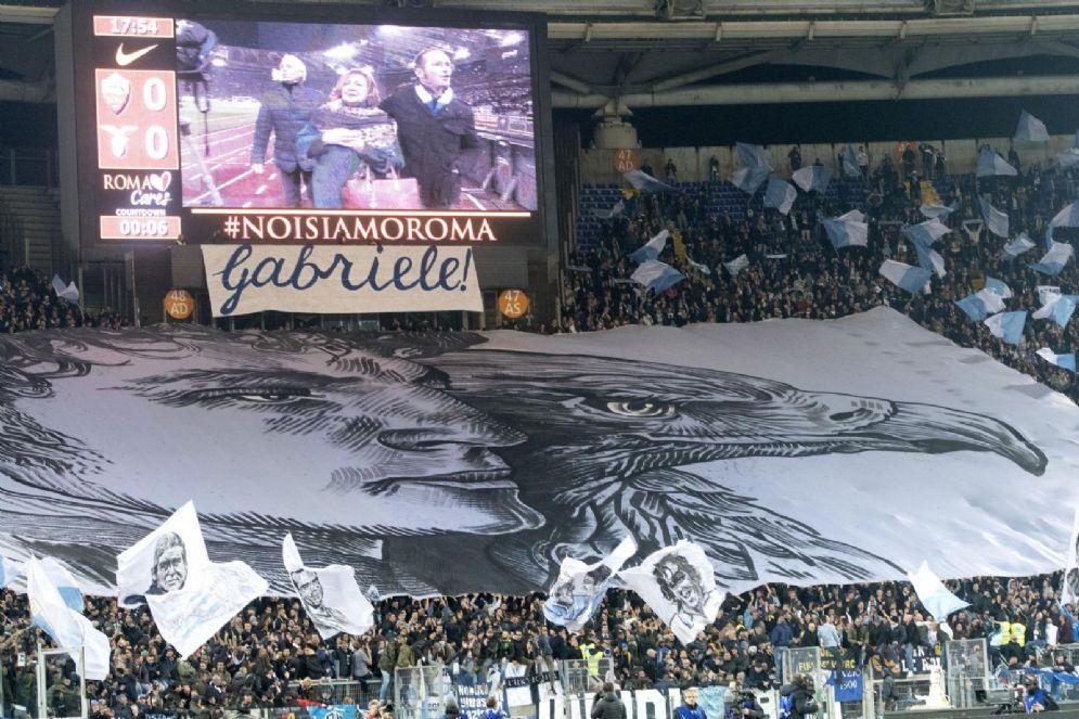 Roma-Lazio,Olimpico unito in ricordo Gabriele Sandri