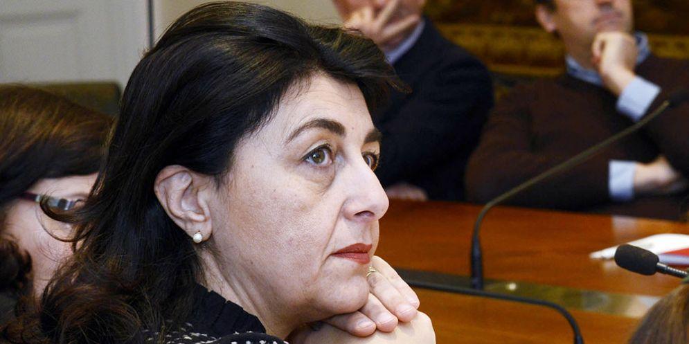Mariagrazia Santoro (Assessore regionale Infrastrutture) nel corso della riunione del Comitato consultivo del Porto di Monfalcone