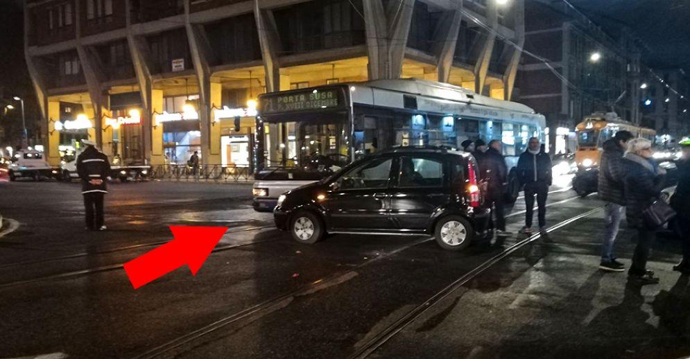 Incidente in piazza Statuto