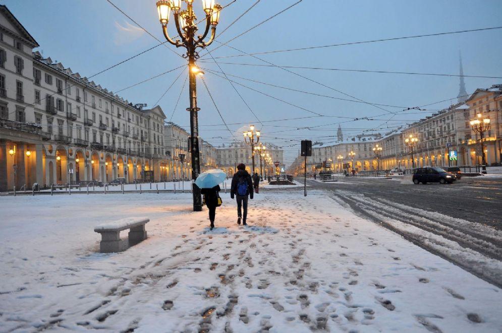 La neve a Torino