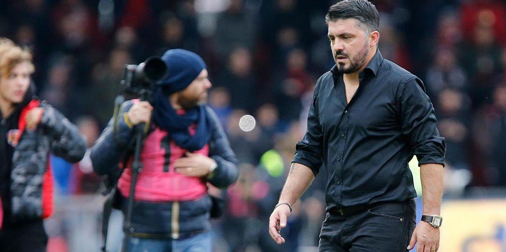 Gattuso esce a testa bassa dal Vigorito di Benevento