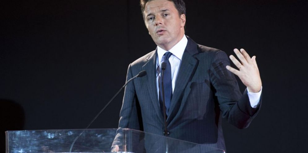 Il segretario del Partito democratico, Matteo Renzielezioni