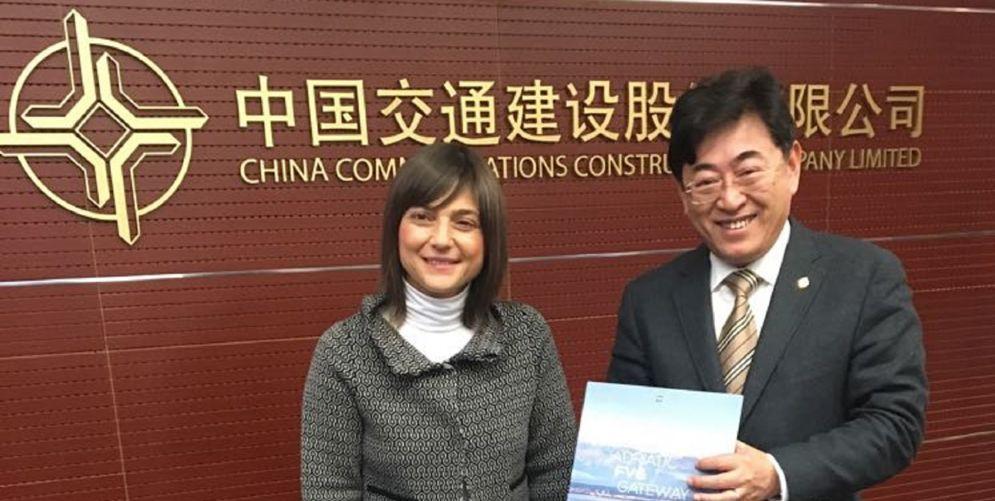 Fvg-Cina: società leader interessata al porto di Trieste