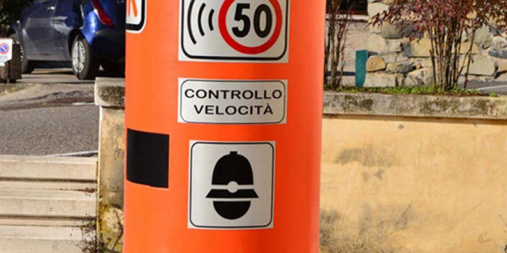 Tavagnacco: in arrivo le 'famigerate' colonnine color arancione