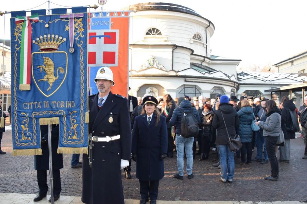 Corteo del 6 dicembre al Cimitero Monumentale di Torino