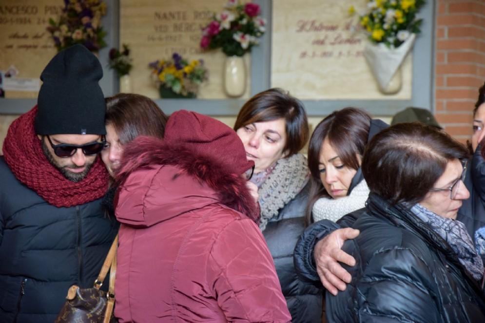 I familiari delle vittime