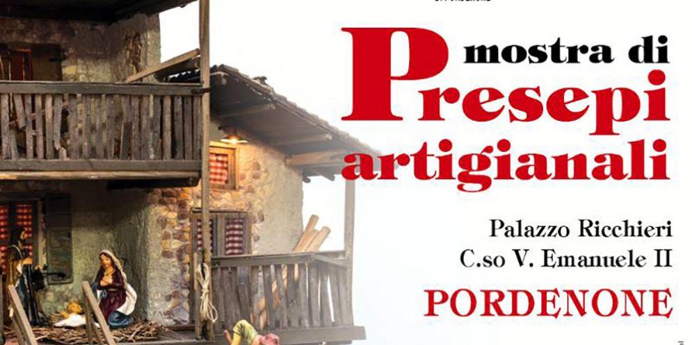 Mostra di Presepi Artigianali nell'ambito del #nataleapordenone