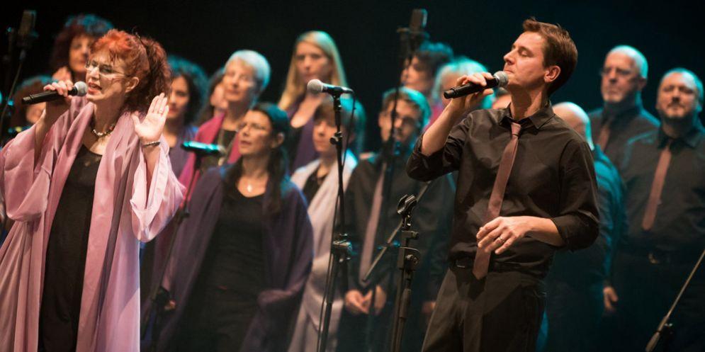 Gli Harmony Gospel Singers in concerto