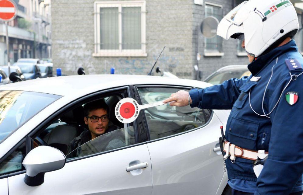 Blocco delle auto a Torino