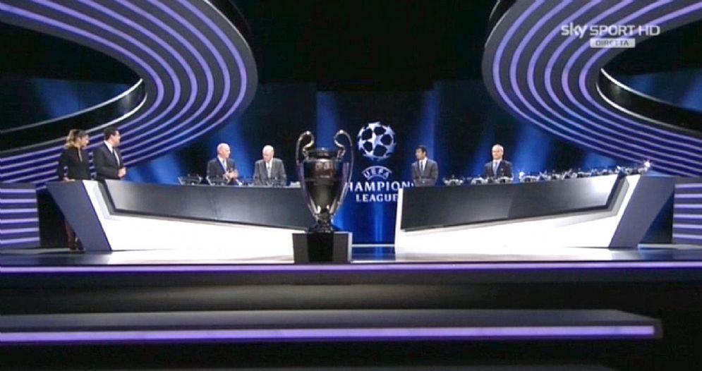 Il sorteggio Champions League