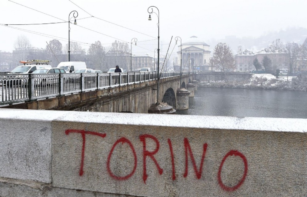 Neve a Torino, 11 dicembre 2017