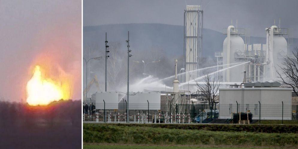 Esplode un impianto di distribuzione di gas in Austria: interrotti i flussi verso l'Italia