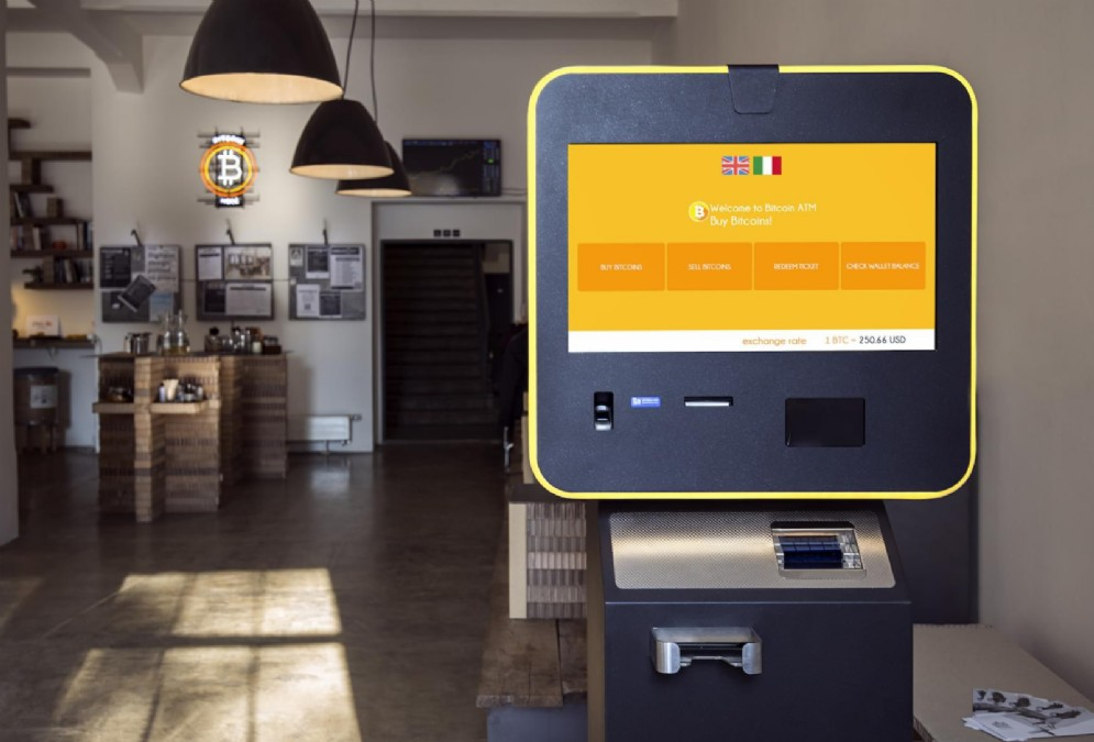 Bancomat bitcoin