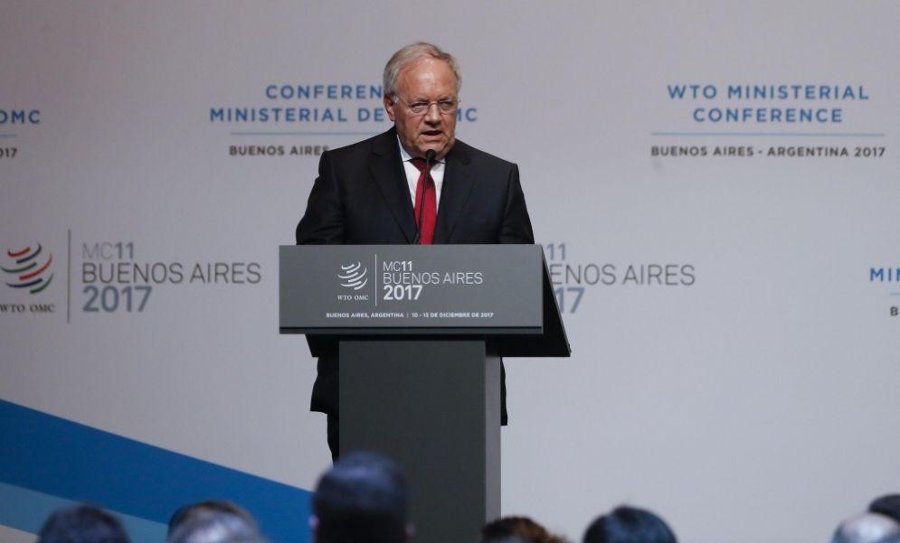 Il rappresentante della Svizzera al Wto, 11 dicembre 2017