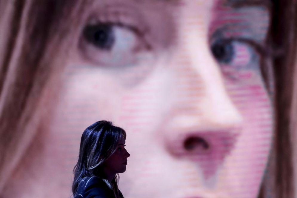 Maria Elena Boschi a Porta a Porta