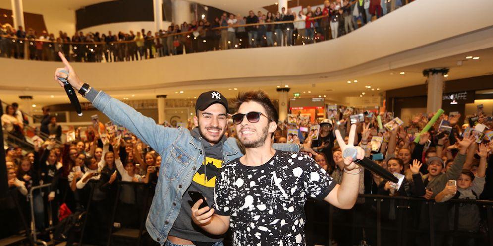 Matt & Bise tornano al Tiare Shopping per incontrare i fan