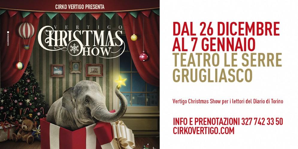 Vertigo Christmas Show al Teatro Le Serre