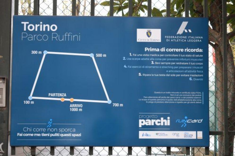 Il percorso realizzato al Ruffini