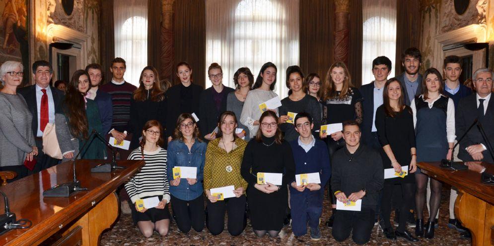 Studenti da 100 e lode premiati dalla Provincia di Udine