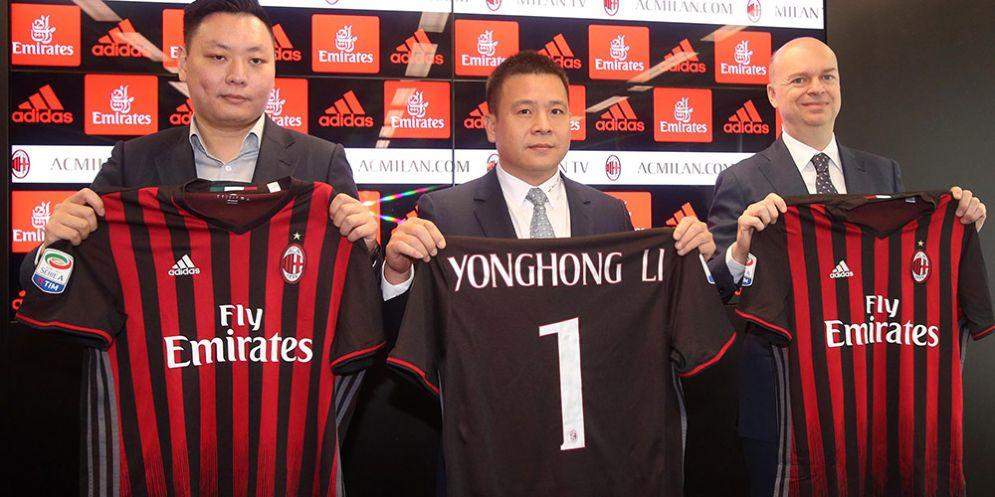 Il triumvirato di governo del nuovo Milan cinese