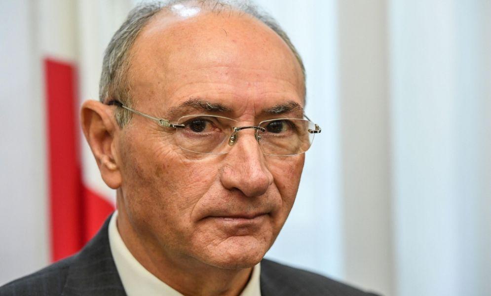 L'ex ad di Unicredit Federico Ghizzoni a Palazzo San Macuto per l'audizione davanti alla bicamerale