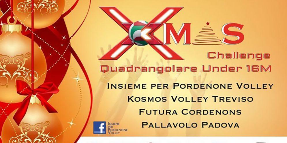 Xmas Challenge: quadrangolare amichevole tra Pordenone, Padova, Treviso e Cordenons
