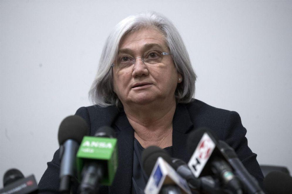 l Presidente della Commissione antimafia Rosy Bindi