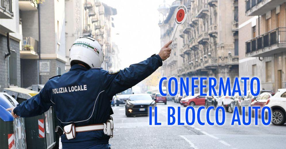 Blocco delle auto a Torino venerdì 22 dicembre