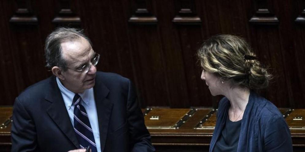 I Ministri Padoan e Madia