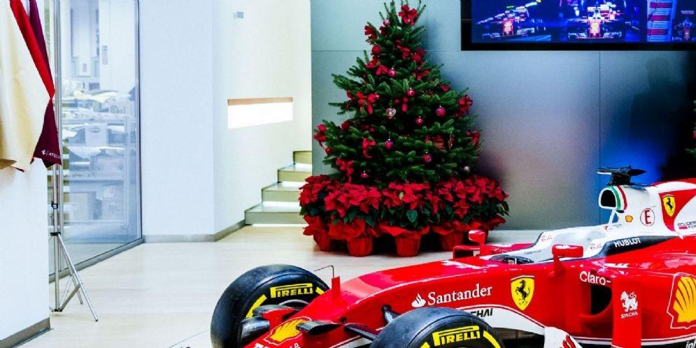 L'albero di Natale della Ferrari