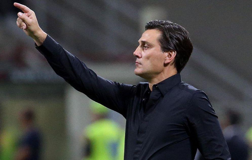 Vincenzo Montella, ex allenatore del Milan esonerato il 27 novembre 2017