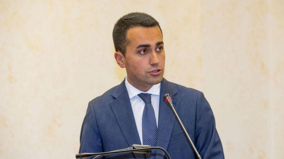Il candidato premier del Movimento 5 stelle, Luigi Di Maio
