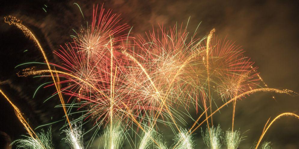 Musica e fuochi d'artificio in Piazza Vittoria per il Capodanno