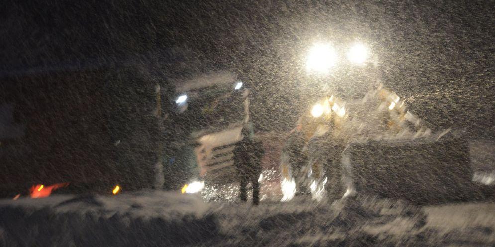 Forte nevicata a Sappada: annullato il vertice con Serracchiani