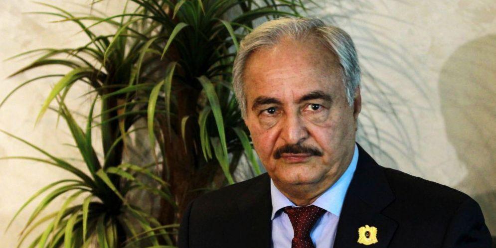 Il Generale Khalifa Haftar