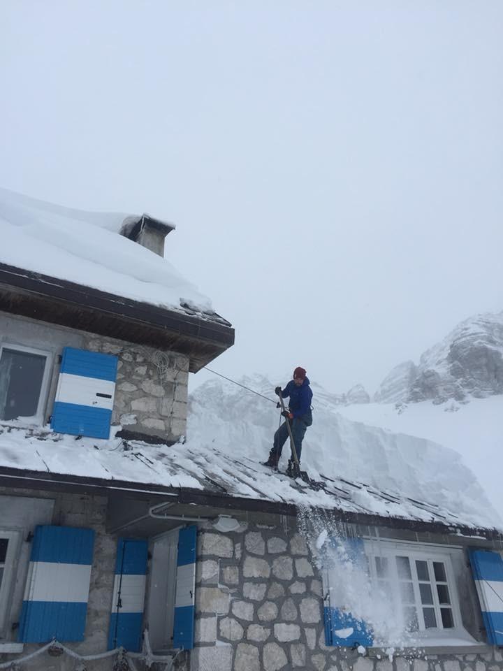 Oltre un metro di neve fresca a Sella Nevea