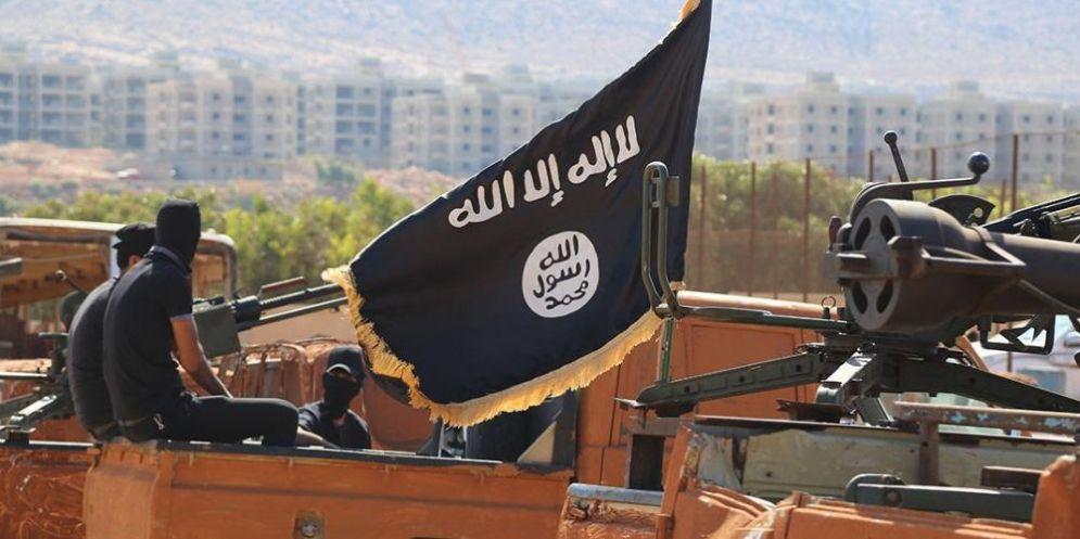 Alcuni combattenti dell'Isis in Siria